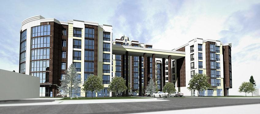 Возведение многоэтажных домов. Проект дома