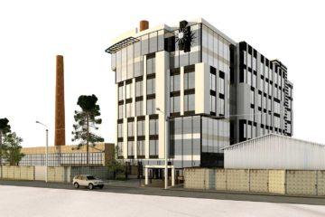 Проектное предложение офисного центра по ул. Матроса Кошки (фото 1)