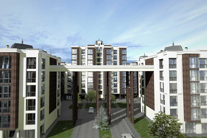 Проектное предложение жилого комплекса по ул. Свердлова в г. Виннице (фото 10)