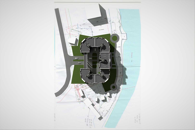 Проектное предложение жилого комплекса по ул. Свердлова в г. Виннице (фото 11)