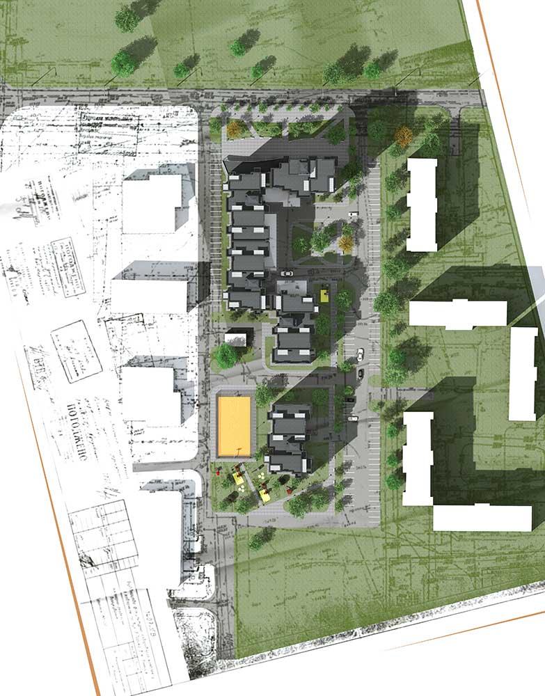 Проектное предложение жилого комплекса по ул. Порика в г. Виннице (фото 12)