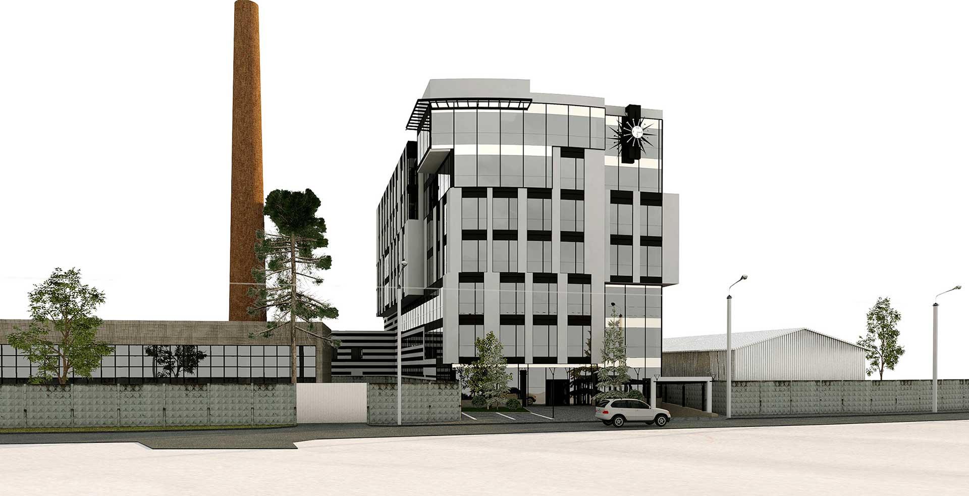 Проектное предложение офисного центра по ул. Матроса Кошки (фото 2)