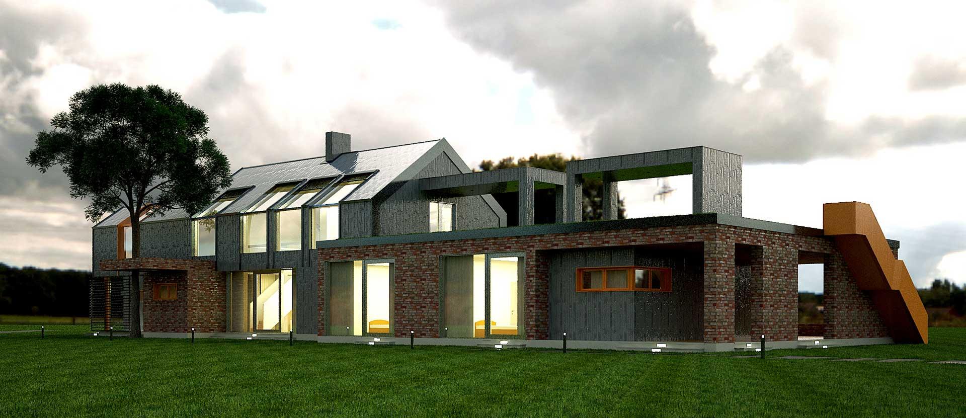 Проектное предложение индивидуального жилого дома (фото 2)