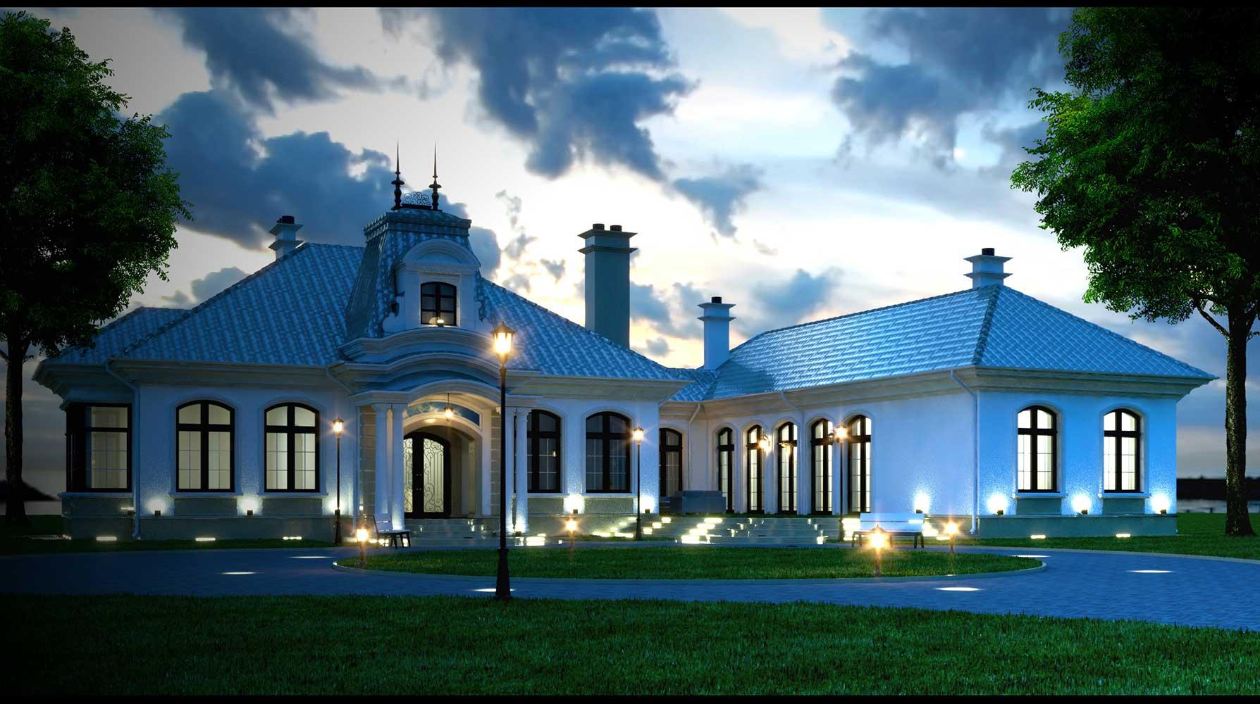 Эскиз жилого дома (фото 2)