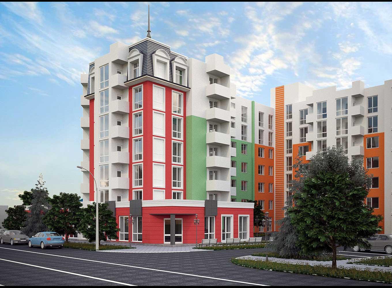 Строительство 7-ми этажного жилого дома со встроено-пристроенными помещениями (фото 3)