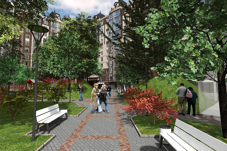 Проектное предложение жилого комплекса в микрорайоне Тяжилов (фото 3)