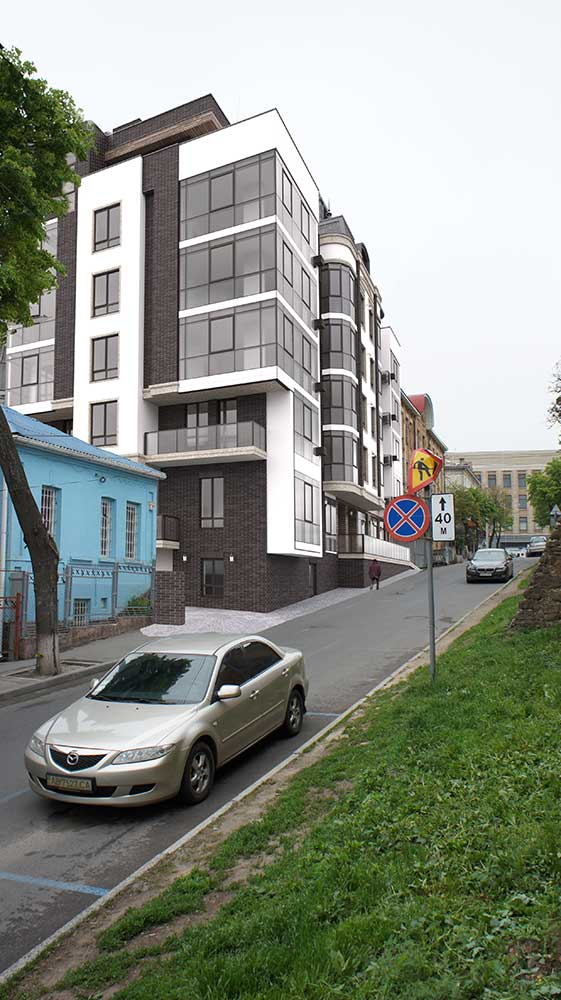 Многоквартирный жилой дом со встроенными помещениями общественного назначения (фото 3)