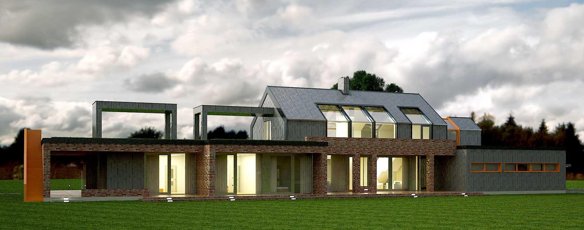 Проектное предложение индивидуального жилого дома (фото 3)