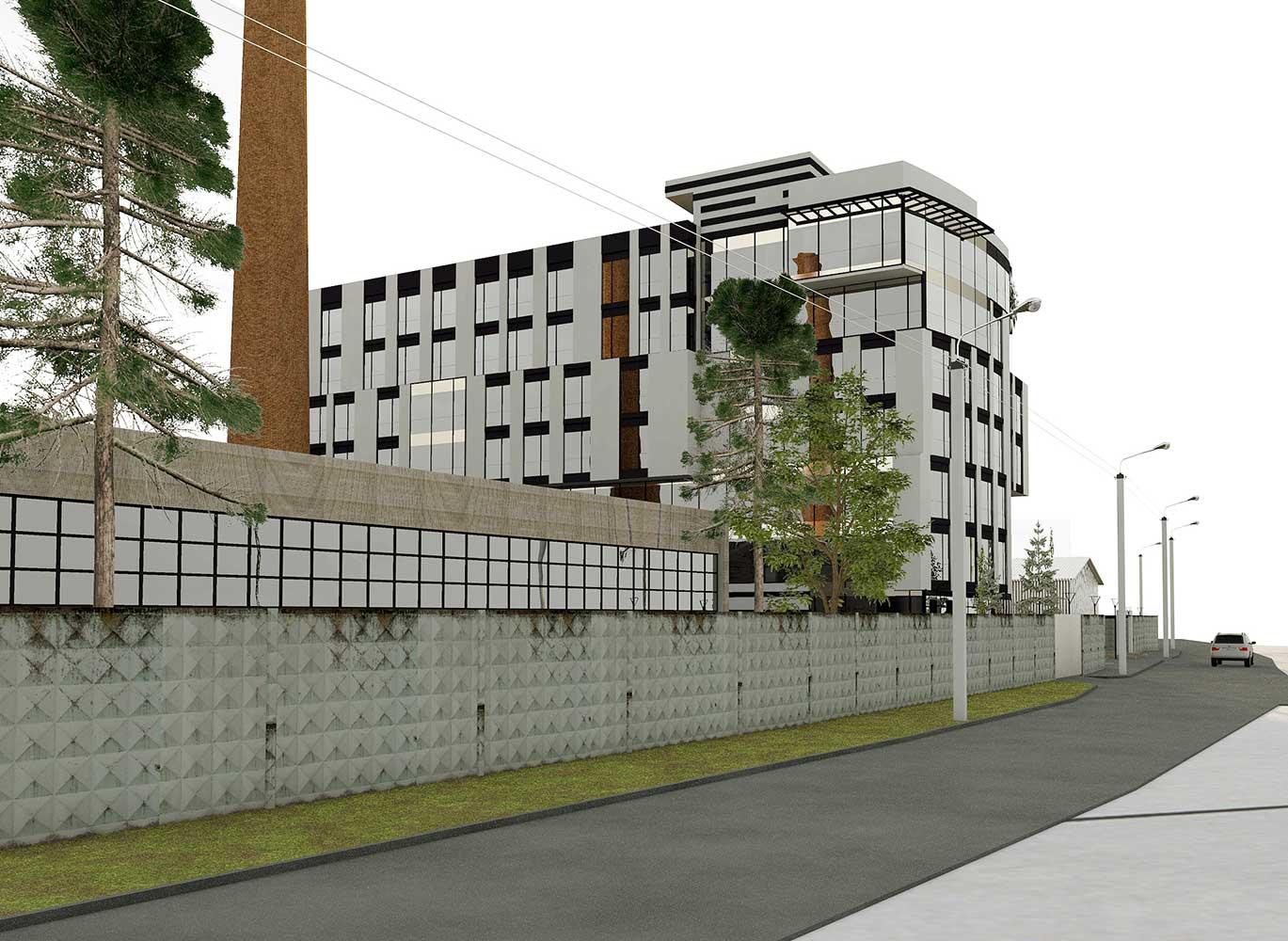 Проектное предложение офисного центра по ул. Матроса Кошки (фото 3)