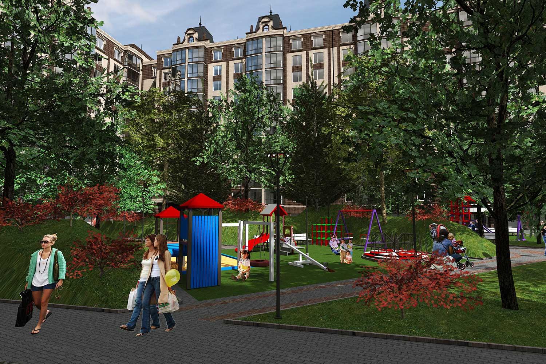 Проектное предложение жилого комплекса в микрорайоне Тяжилов (фото 4)