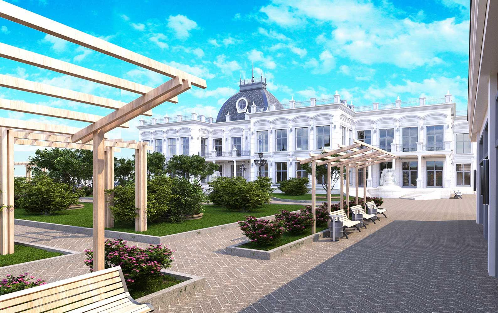 Ресторанно гостиничный комплекс в Виннице (фото 4)