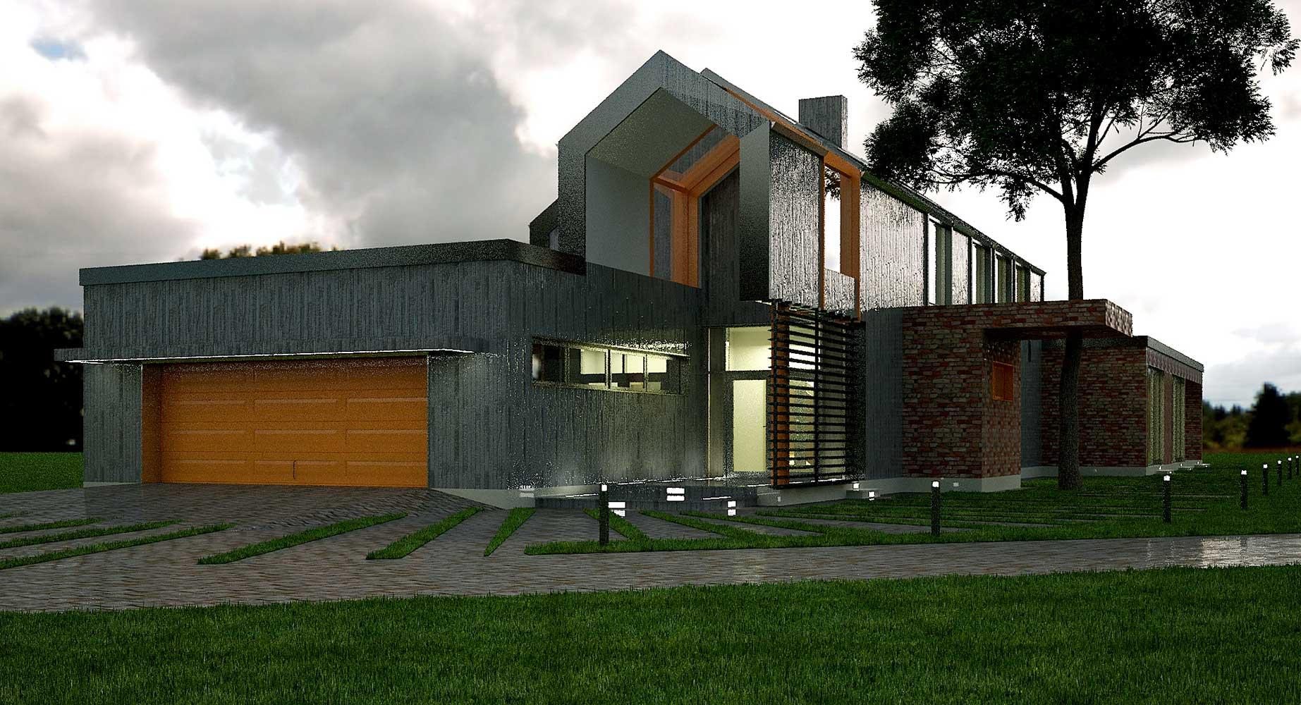 Проектное предложение индивидуального жилого дома (фото 4)