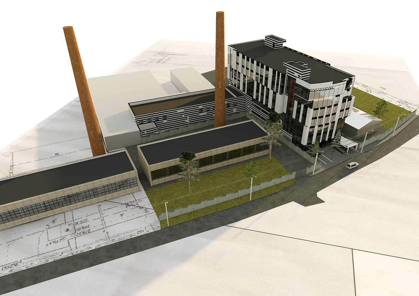 Проектное предложение офисного центра по ул. Матроса Кошки (фото 4)