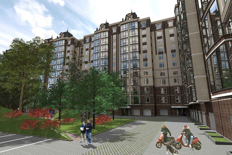 Проектное предложение жилого комплекса в микрорайоне Тяжилов (фото 5)