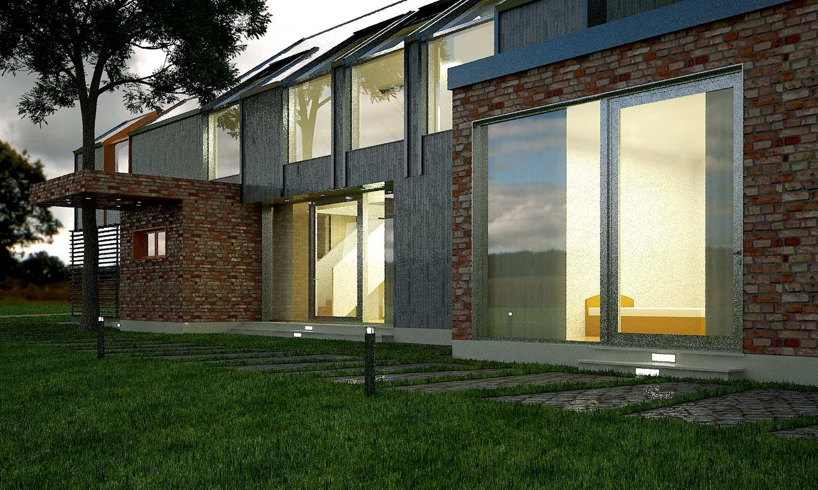 Проектное предложение индивидуального жилого дома (фото 5)