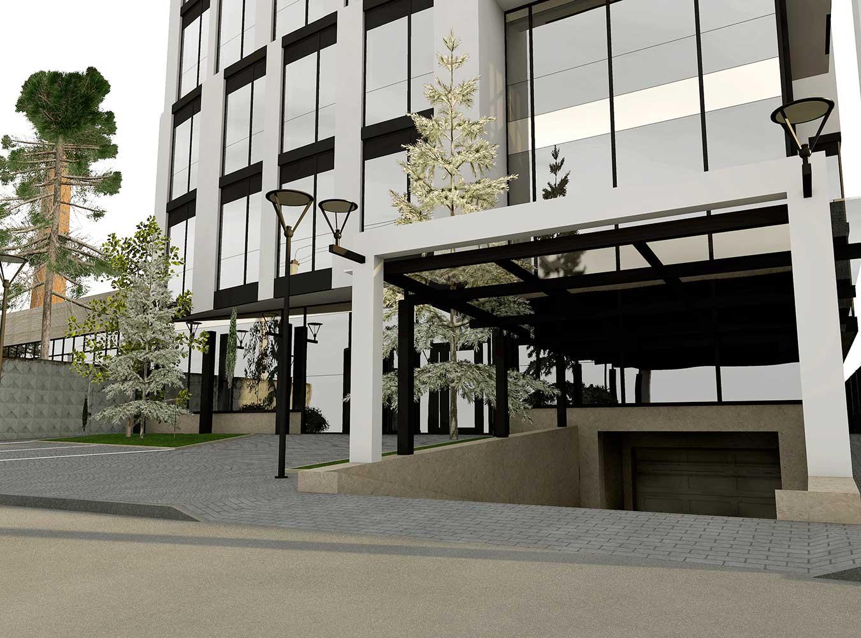 Проектное предложение офисного центра по ул. Матроса Кошки (фото 5)