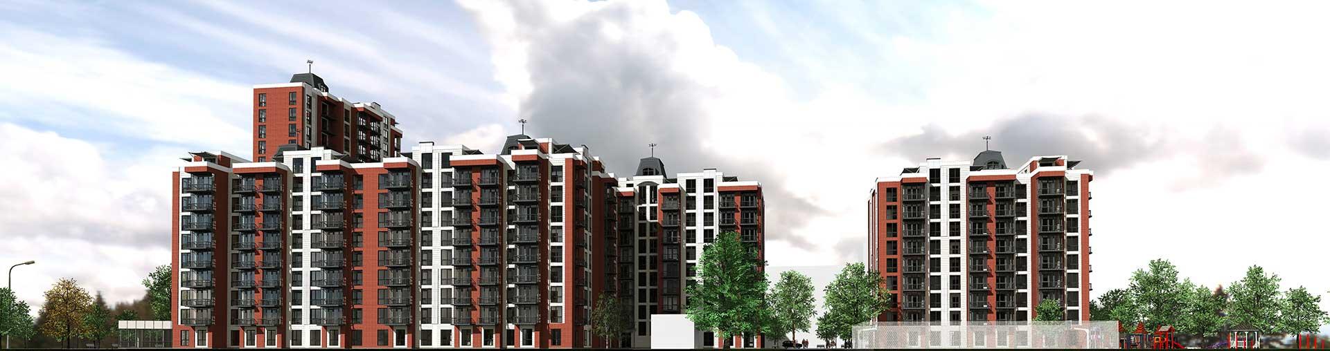 Проектное предложение жилого комплекса по ул. Порика в г. Виннице (фото 6)