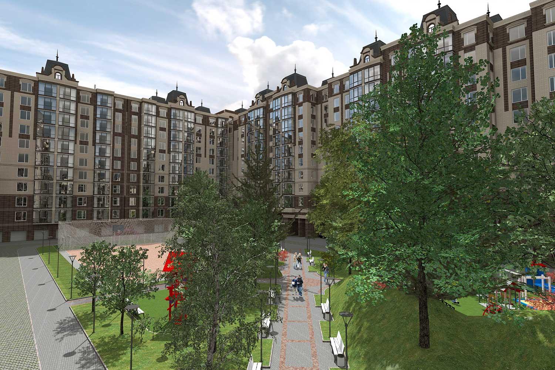 Проектное предложение жилого комплекса в микрорайоне Тяжилов (фото 6)