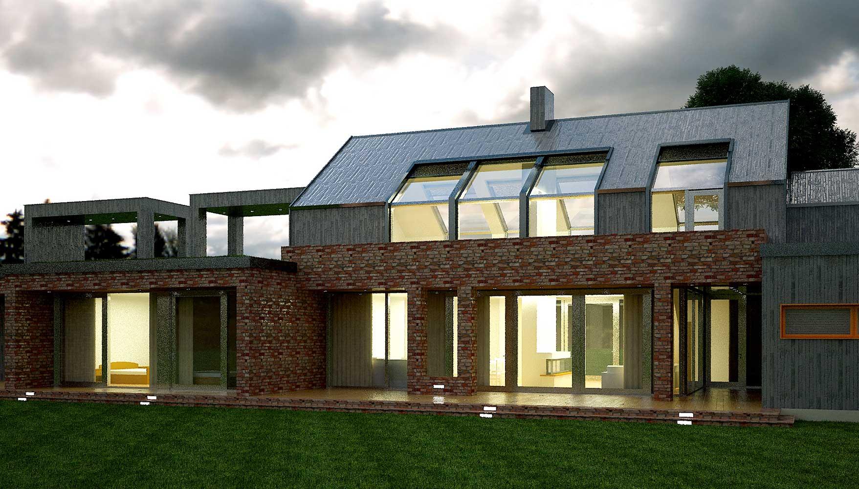 Проектное предложение индивидуального жилого дома (фото 7)