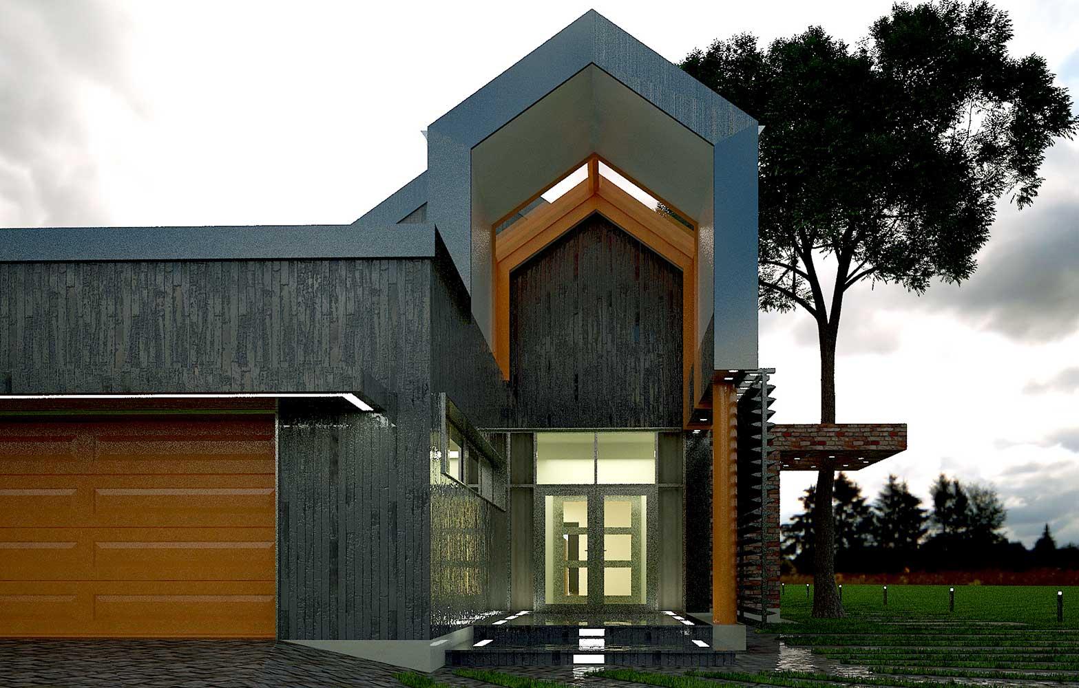 Проектное предложение индивидуального жилого дома (фото 8)