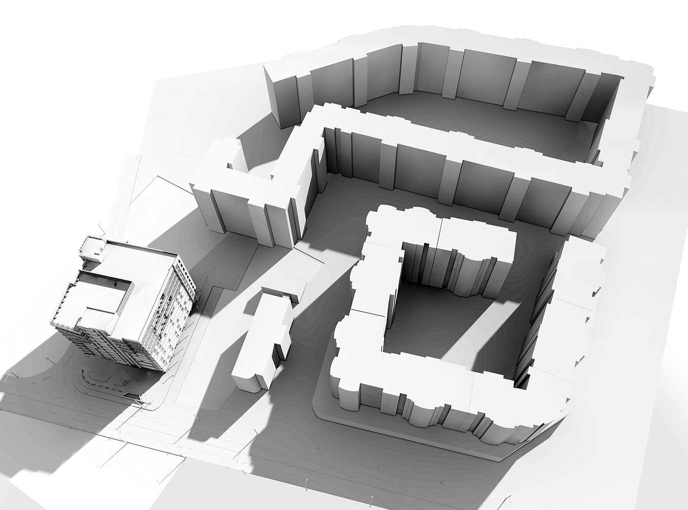 Многоэтажный торгово-бытовой комплекс с помещениями общественного назначения и паркинга (фото 7)