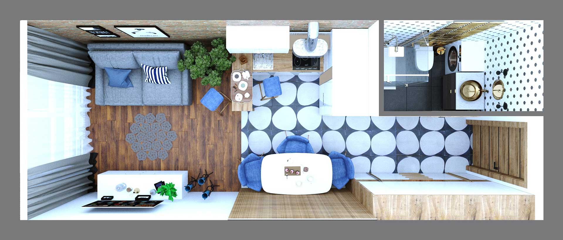Дизайн проект смарт квартиры (фото 5)