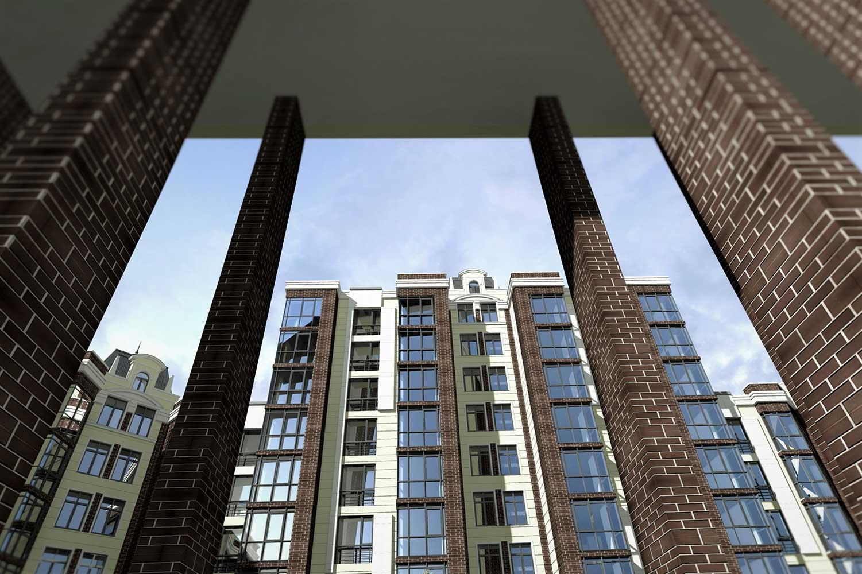 Проектное предложение жилого комплекса по ул. Свердлова в г. Виннице (фото 9)