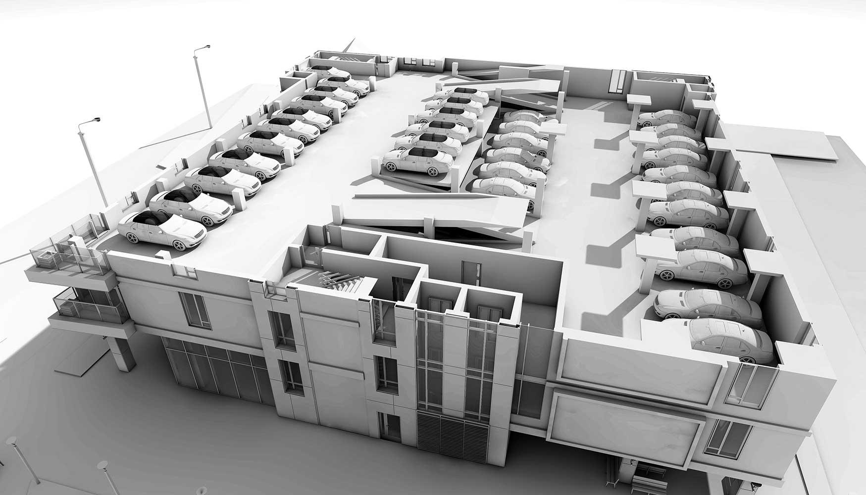 Многоэтажный торгово-бытовой комплекс с помещениями общественного назначения и паркинга (фото 8)